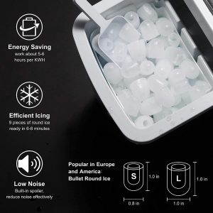 Joy Pebble Ice Maker Features