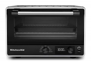 KitchenAid KCO211BM 1800-watt power digital countertop toaster oven
