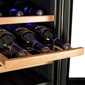 Koldfront TWR247ESS 24 Bottle Dual Zone Wine Cooler