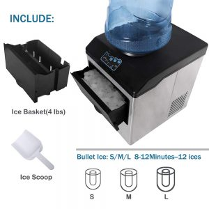 Northair 2 in 1 Ice Maker With Water Dispenser, 40lbs