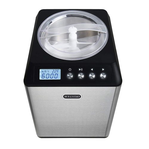 Whynter ICM-201SB 2.1 Quart Upright Stainless Steel Bowl Ice Cream Maker