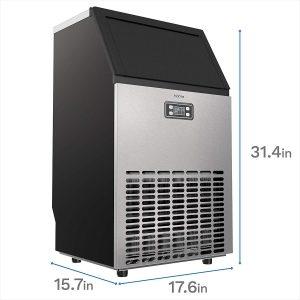hOmeLabs Freestanding Commercial Ice Maker 99 lb.