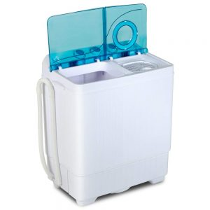 KUPPET Compact Twin Tub 26lb Mini Washing Machine