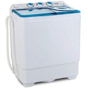 KUPPET Compact Twin Tub Portable Mini Washing Machine 26lbs