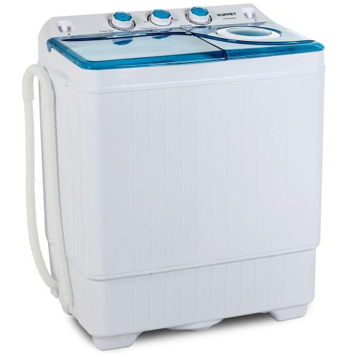 KUPPET Compact Twin Tub Portable Mini Washing Machine 26lbs