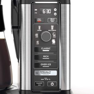 Ninja Specialty Fold-Away Frother (CM401) Coffee Machine Display