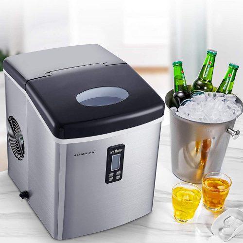 U Drive Hodiax 33LB Countertop Ice maker