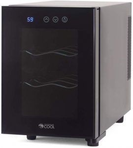 Commercial Cool CCWT060TB Thermal Electric 6 Bottle Wine Cellar