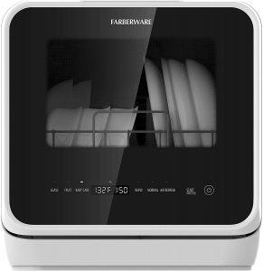 Farberware FDW05ASBWHA 5-Liter Complete Portable Countertop Dishwasher