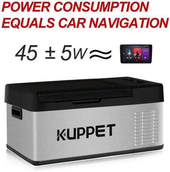 KUPPET Portable Refrigerator Freezer 16Qt