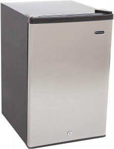 Whynter CUF-210SS 2.1 Cubic Feet Energy Star Upright Freezer