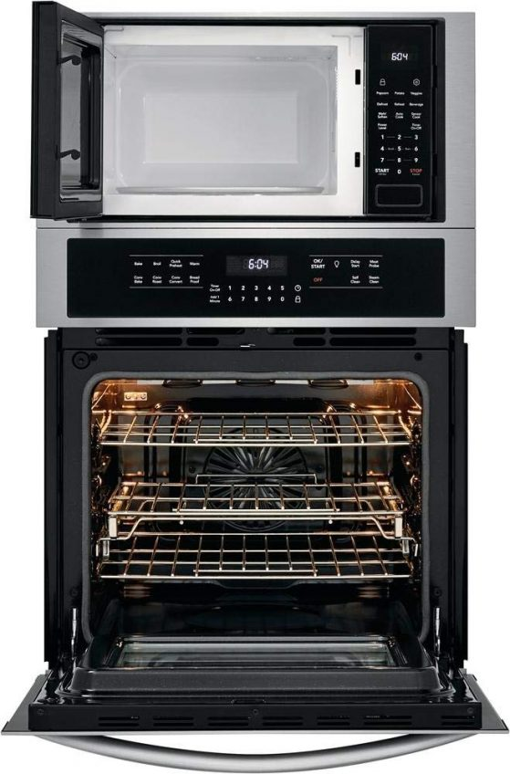 Frigidaire FGMC2766UF 27 Inch Gallery Series Microwave Wall Oven Combo Interior