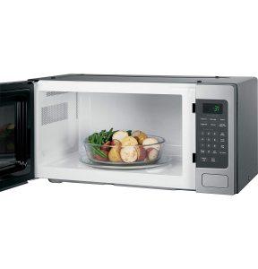 GE PEM31SFSS Countertop Microwave Oven Interior