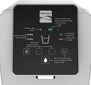 Kenmore Water Dispenser Optimizer Display Panel