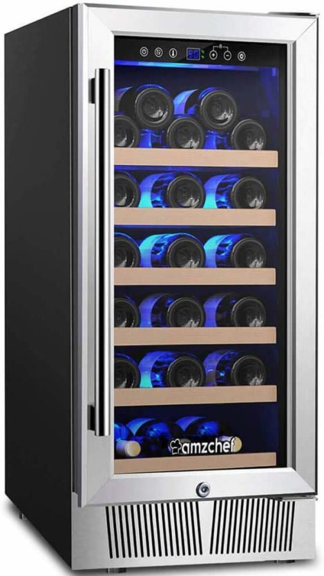AMZCHEF 15 Wine Cooler, JC-85A