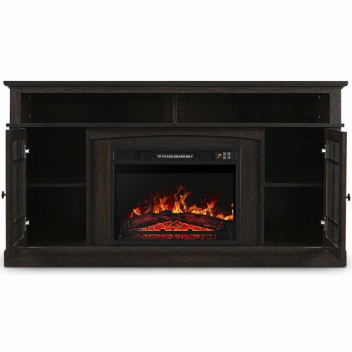 Belleze 60 Electiric Fireplace TV Stand