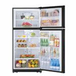 Daewoo RTE21GBBCS Top Mount Fridge, 21 Cu.Ft