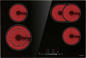 ECOTOUCH CRAH774B 30 4 Burner Built in Radiant Electric Smoothtop Cooktop