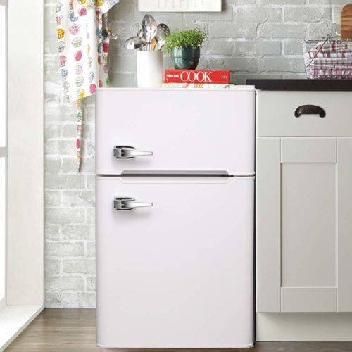 Tavata 3.2 Cu Compact Refrigerator Double Door