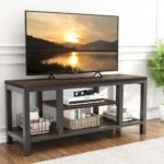 LITTLE TREE TV Stand, Industrial Rustic Media Stand