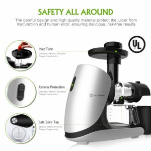 Meomy Masticating Juicer Safety