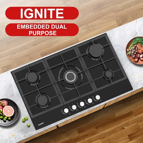 KUPPET GHG915 34 Built-in Gas Cooktop Ignite