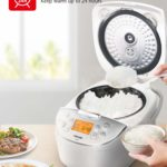 Toshiba TRCS01 Rice Cooker, 1L Fuzzy Logic
