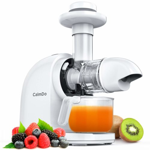 CalmDo Slow Juicer Extractor with Ceramic Auger