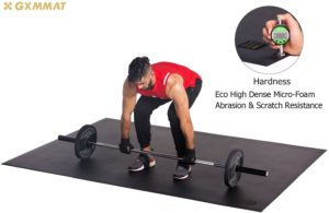 Gxmmat Large Workout Mat 6 x 6