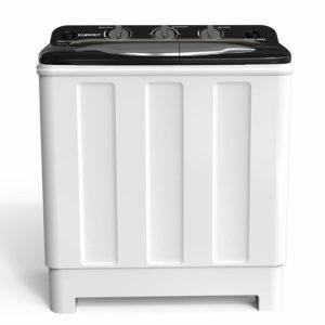 Kenwell Compact Twin Tub Portable Mini Washing Machine 24lbs