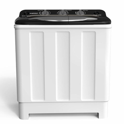 Kenwell Compact Twin Tub Portable Mini Washing Machine 24lbs