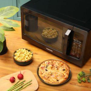 Toshiba ML-EM45P(BS) Countertop Microwave Sensor Oven