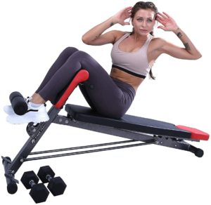 Finer Form Upgraded Multi-Functional Bench AIO Workout
