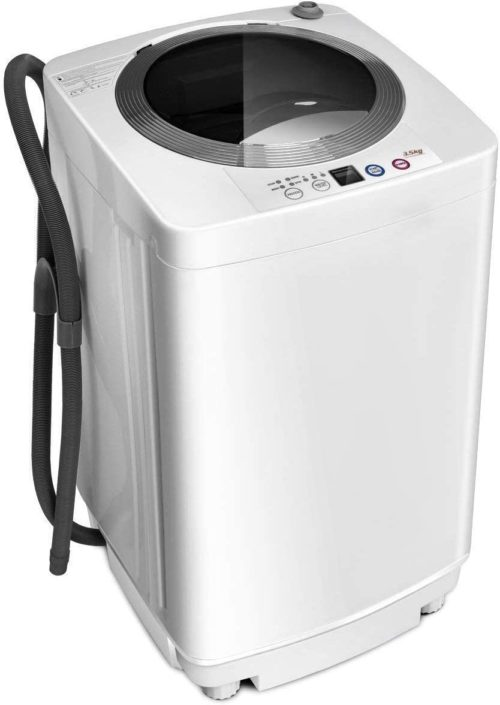 Giantex Portable Compact Full-Automatic Laundry 8 lbs