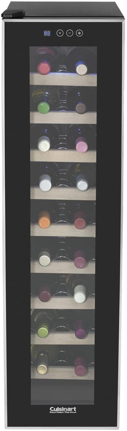 Cuisinart CWC-1800TS 18-Bottle Private Reserve Wine Cellar