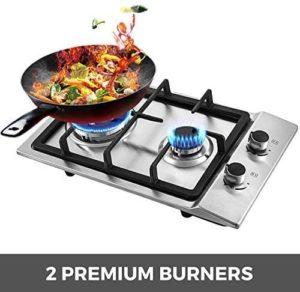 12-inch Gas Cooktop 2 premium burners