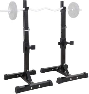 timegard adjustable squat rack