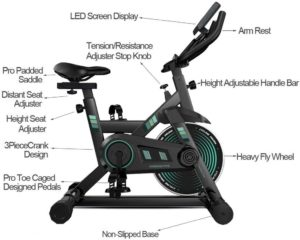 Amikadom Exercise Bike