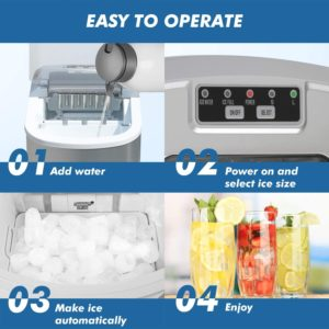 smartrun Portable Countertop Ice Machine