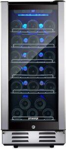 Staigis 15 Inch Wine Cooler Refrigerator