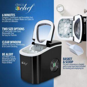 deco chef rapid ice maker