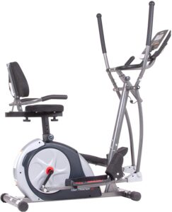 Body Champ 3-in-1 Exercise Machine, Trio Trainer Plus Two