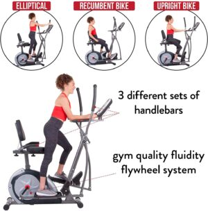 Body Champ 5-in-1 Exercise Machine, Trio Trainer Plus Two, BRT7989