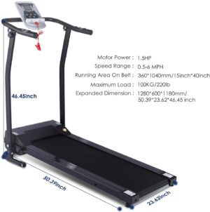 Kenchend Folding Treadmill