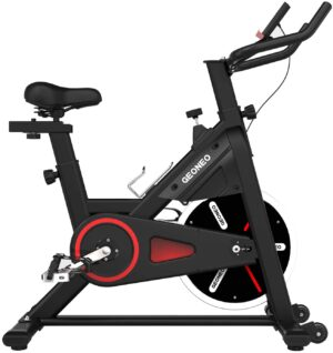GEONEO Magnetic Indoor Stationary Exercise Bike
