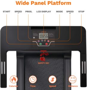 UREVO Foldable Treadmill LCD Display Panel