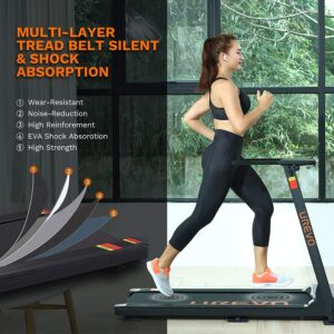 UREVO Foldable Treadmill