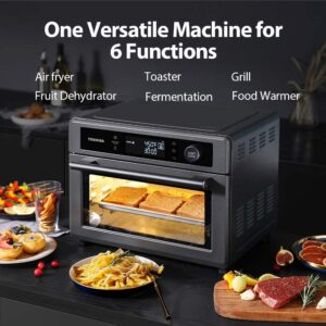 Toshiba Air Fryer Toaster Oven, 13-in-1