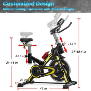 hopesport Indoor Stationary Cycling Bike