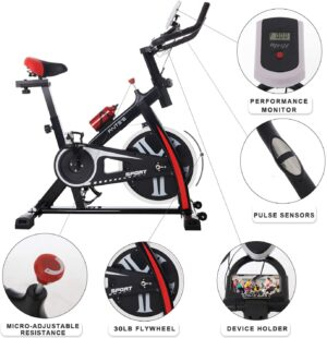 FAITE'S Exercise Bike Indoor